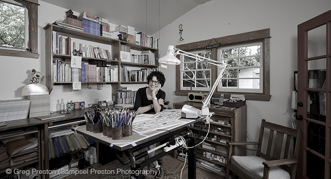 Marla Frazee Studio By Greg Preston
