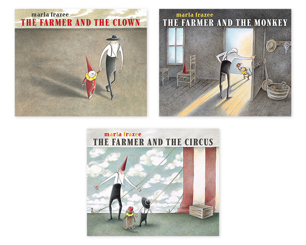Farmer Trilogy Covers