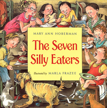 The Seven Silly Eaters Cover